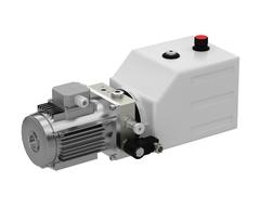 SKS-(D09-2)-1 Насос гидравлический SKS-D09 для пл. с выдв. аппарелью с двумя подъёмными цил. 380В/3ф/50Гц/1,1 кВт