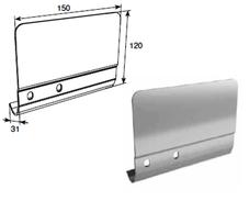 Соединительная пластина 120мм правая для вертикальных направляющих SPV-PT1R