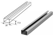Профиль нижний встраиваемый SPV-SN2 L=6000mm