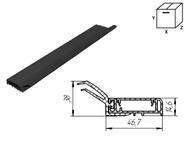 Внешний уплотнитель секционных ворот SPV078 L=6000mm