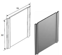 Пластина крепления сдвоенных горизонтальных направляющих SPVPT31