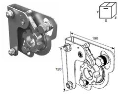Устройство защиты SSD-210R от разрыва правой пружины Medium