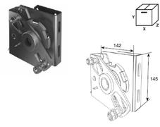 Устройство защиты SSD-311R от разрыва правой пружины Big для барабана сзади