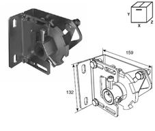 Устройство защиты SSD-312R от разрыва правой пружины Big с кронш. крепления к стене