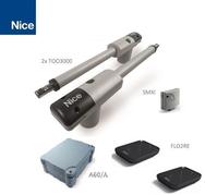 NICE TOO3000KLT привод комплект (створка до 3м)