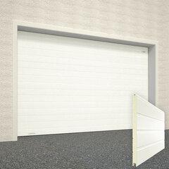 Ворота секционные серии RSD01SС №1 ширина 2500 высота 2115 доска, белые