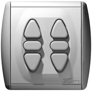 Выключатель для рольставен и жалюзи Somfy Inis Duo