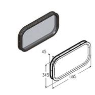 W095 вставка светопрозрачная под 45мм