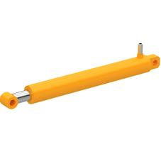 CLSKS40-30-500 Цилиндр гидравлический D внеш. 50мм., D внутр. 40мм., D штока 30мм., L хода 500мм